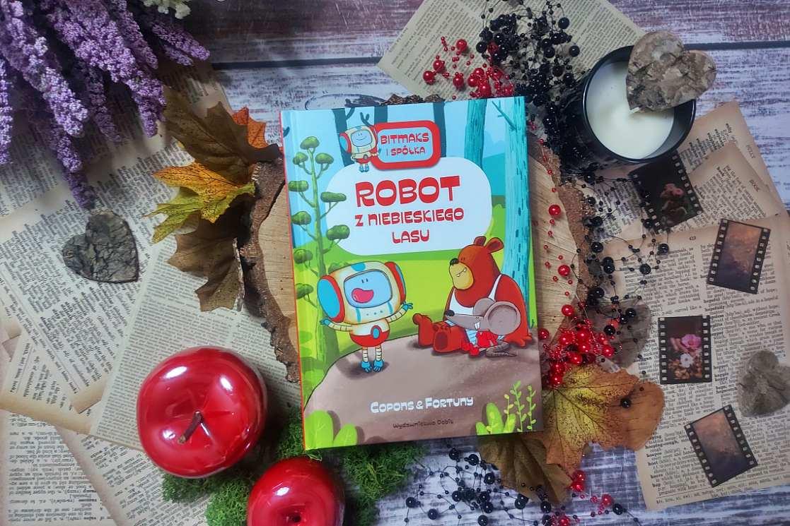 Robot z niebieskiego lasu